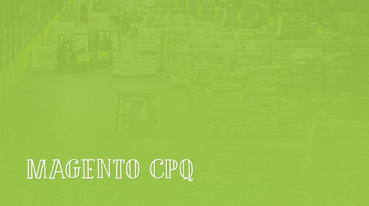 Magento CPQ Configure Price Quote